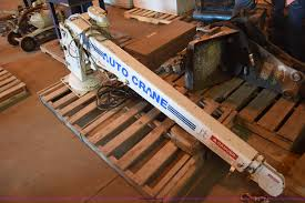 Auto Crane 2703 Truck Mounted Crane | Item BF9858 | SOLD! Ju...