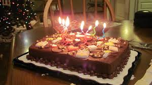 Chocolate Birthday Cakes For Men With Candles Latest New