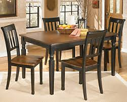 Large Owingsville 5 Piece Dining Set Rollover