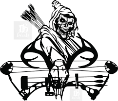 Grim Reaper Hunter Bow Hunting Deer Skull Car Truck Window Vinyl ... Browning Kiss Heart Vinyl Car Truck Decal Sticker Love Buck Doe Off Decalfunny Hunting Auto Window Graphic Pinterest Funny Deer Hunting Decals Stickers For Cars Windows And Walls Huntemup Traditional Archery 3rivers Window With Disnction Bowhunters Superstore Pse Bow Hunter Antlers Amazoncom Camo 2 17 Inchesby56 Inches Compact Pickup Trucks Best Resource And Fishing 139658 At Sportsmans Guide Duck Flag Waterfowldecals Whitetail Buck Car Truck Vinyl Decal