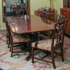 Chippendale Dining Room Chairs Federal Style Table From Baker Furniture And