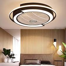 led deckenventilator modern unsichtbares fan deckenleuchte licht einstellbar beleuchtung schlafzimmer deckenle dimmbar wohnzimmer leuchte mit