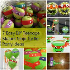 Ninja Turtle Decorations Ideas by Diy Ninja Turtle Decorations U2013 Turtle