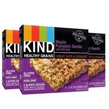 Bigs Pumpkin Seeds Nutrition by Kind Healthy Grains Granola Bars Maple Pumpkin Seeds With Sea