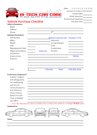 Used Vehicle Inspection Form - Hi-Tech Car Care, Phoenix, Arizona 2part Daily Truck Inspection Sheets 1000 Forms Aw Direct Drivers Please Make Sure Your Unrride Rear Impact 6 Free Vehicle Modern Looking Checklists For Weekly Checklist Template Car Maintenance Tanker Truck Water Oil Oil Rmi020 Used Presales Form Pad Rmi Webshop Nasa Ames Research Center Apg17001 Chapter 17 Commercial Fleet Buyrite Tyres Septic Tank 65 With 29 Images Of Report Infovianet Mighty Auto Parts Part 396 Page 1 Formpng