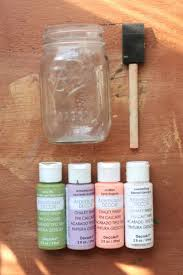 Americana Decor Chalky Finish Paint Colors by Best 25 Paint For Mason Jars Ideas On Pinterest