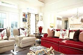 Red Leather Couch Living Room Ideas by Living Room Luxury Red Sofa In Living Room Red Leather Sofa