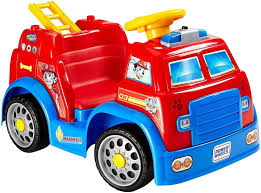Power Wheels Paw Patrol Fire Truck Battery Ride On 6 Volt Toddler ... Little Red Fire Engine Truck Rideon Toy Radio Flyer Designs Mein Mousepad Design Selbst Designen Apache Classic Trike Kids Bike Store Town And Country Wagon 24 Do It Best Pallet 7 Pcs Vehicles Dolls New Like Barbie Allterrain Cargo Beach Wagons Cool For Cultured The Pedal 12 Rideon Toys Toddlers And Preschoolers Roadster By Zanui Amazoncom Games 9 Fantastic Trucks Junior Firefighters Flaming Fun