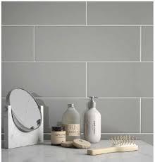 6 x 18 taupe matte glazed ceramic wall tile