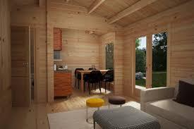 blockhaus mit badezimmer schweden a 23m2 6 x 4 m 70mm