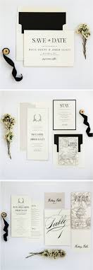 Ivory Stone And Black Neutral Rustic Wedding Invitation Suite From Champagne Press
