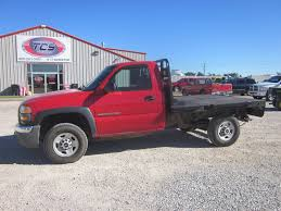 2007 GMC 2500HD Flatbed Pickup - YouTube
