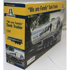 """Italeri 1:24 3911 """"THE FAMILY"""" Tank Trailer Model Truck Kit ... Model Trucks Diecast Tufftrucks Australia Diecast Trucks Hgv Heatons Truck Trailer Parts Model World Tekno Eddie Stobart Ltd Youtube And Trailers Shipping Containers Buses 187 Ho Scale Junk Mail Jumbo Holland Bouwers Dennis Kliffen Betty Dekker Ron Meijs Kenworth T909 Prime Mover Drake 2x8 Dolly 4x8 Swing Black Vehicles For Railways Specialist Tractor Trailersdhs Colctables Inc From To A Finished"""