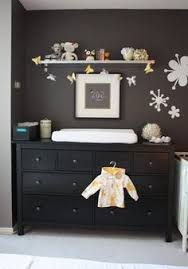 ikea hemnes dresser low and deep enough to double as a changing