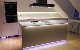 led küchen unterbauleuchten arbeitsplattenbeleuchtung