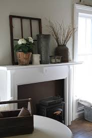 Decorating Our Non Vintage Mantle To Match Farmhouse Chic Decor