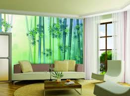 Simple Wall Painting Designs For Living Room Green Colou Comparison Paint Color Ideas Accent