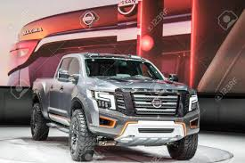 DETROIT - JANUARY 17 :The 2017 Nissan Titan Pickup Truck At The ... 2016 Nissan Titan Xd Review Nissans Smokin Titan Has A Custom Builtin Smoker Fully Truck Bodies Auto Crane A Buyers Guide To The 2012 Yourmechanic Advice 2018 Cortland Lift Kit Adds 3 Inches Retains Warranty Roadshow 2017 Toyota Tundra Vs Caforsalecom Blog The New In Lebanon Nh Team North Road Tested Pro4x Outside Online Nissans Truck Guru Talks About Titans Name 4 Reasons Your Family Will Love Specs And Information Planet