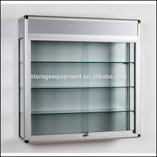 furniture awesome wall mounted display cabinets with glass doors