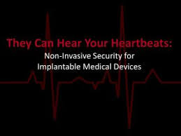 chambre implantable d馭inition ppt design challenges for secure implantable devices