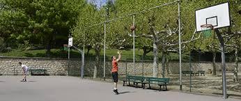 terrain de basket exterieur aires de sport ville de courbevoie