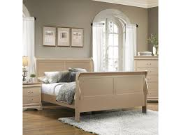 coaster louis philippe queen sleigh panel bed miskelly furniture