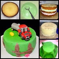 kleine traktor torte small tractor cake sabrinas küchenchaos