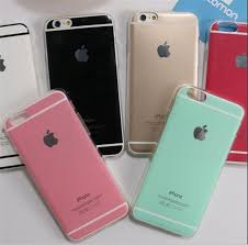 Iphone 6 6s Plus Cases Candy Colors Soft Tpu Case Shiny Skin Back