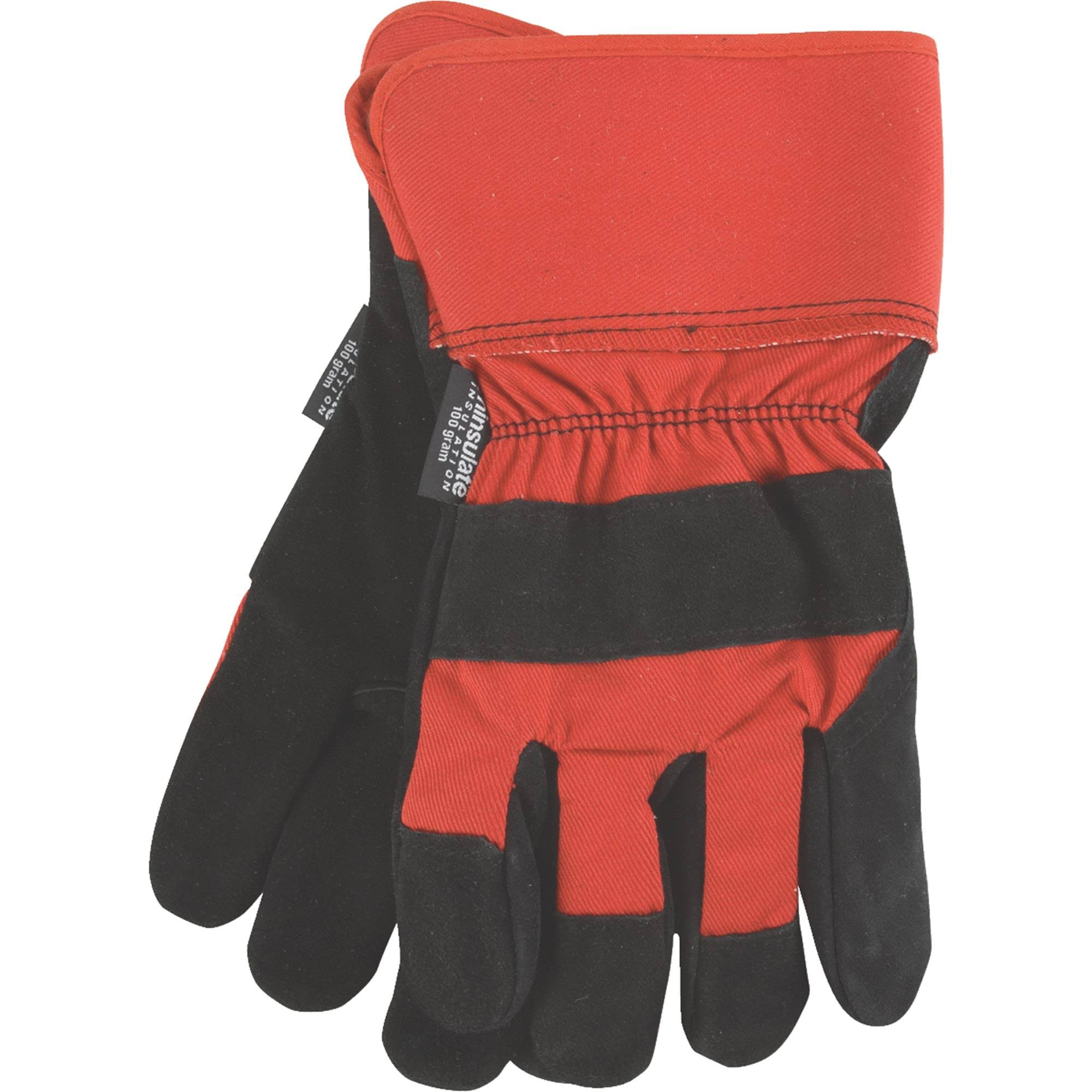 Do It Best Leather Winter Work Glove 750882