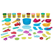 Play Doh Kitchen Creations Ultimate Chef Set Create and Make