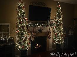 Thrifty Artsy Girl Oh Christmas Tree DIY Potted Topiary Skinny