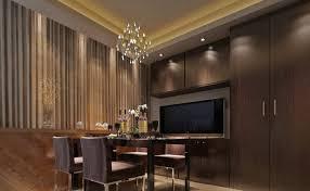 Design Dining Room TV Wall