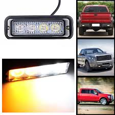 4 LED White Amber Emergency Vehicle Car Truck Windshields Dash ... Light Truck Strobe Ford Expands Firstever Factoryinstalled Warning Led Lights 12v 24v 18w 6 Waterproof Car Emergency Beacon Cyan Soil Bay 4 Rv Flash Bar 2016 F150 Adds Builtin For Fleet Vehicles Hideaway Automotives Hideaway Mini Vehicle Trailer Round Led For Trucks 4428 Watch Now Accsories 54 Blue Red Nwhosale New 2 X 48 96led Flashing 4led 19 Function Parts 26422rd Recon 2x22 Flasher Lamp Bars With