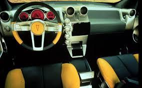 Pontiac Aztek Concept interior GearHeads