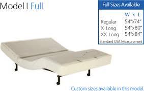 model 1 adjustable bed craftmatic adjustable beds
