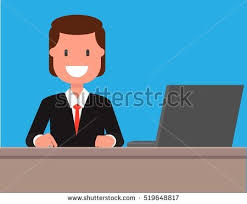 Breaking News Tv Background Man Reporter Stock Vector Royalty Free 519648817