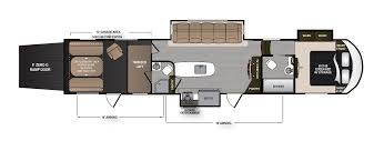 Fifth Wheel Bunkhouse Floor Plans by Voltage Rv Toy Haulers U0026 Fifth Wheel