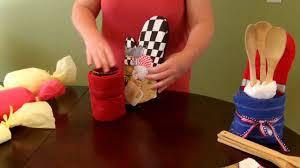 Sunflower Bath Towel Set by How To Make A Kitchen Towel Gift Set Housewarming Youtube