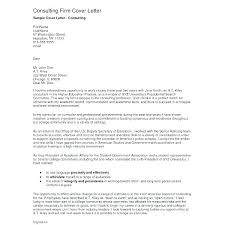 Cover Letters To Recruitment Agencies Consultant Letter Sample