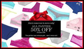 New Victorias Secret Halloween Panties by Victoria U0027s Secret 50 Off Regular Priced Panties U2013 Starting