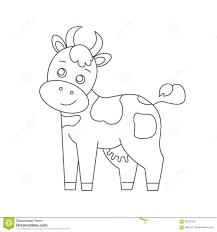 Coloriage Vache à Imprimer KewlFRcom