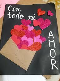 Tarjeta San Valentín Día Del Amor Y La Amistad Manualidades