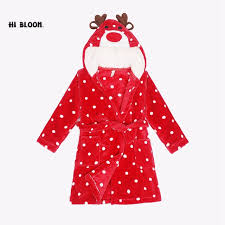 robe de chambre enfant fille flannel boy children s bathrobe winter robe fille