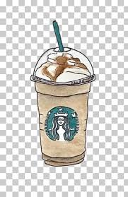 Coffee Starbucks Cafe Drawing Drink Hand Painted PNG Clipart