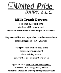 Milk Truck Drivers, United Pride Dairy, LLC, Phillips, WI Sun Prairie Truck Driving School 579adf3c B668 4872 B765 Drone Video Of Explosion Tuesday Night 43 Best Drivers Wanted Images On Pinterest Drivers Semi Driver Faces Tentative Owi Charges After Crashing Into School Reviews 5 Futuristic Technology Volunteer Fire Department Montana Home Facebook Kllm Best 2018 4 Lakes Driver Traing Madison Wi Trucking Wallpapers Group 62 Deputy 1 Ejected Several Injured In Bus Vs Dump Truck Diesel Schools Photo Gallery