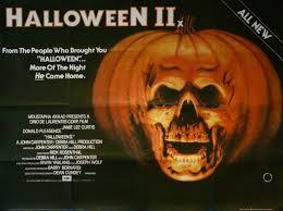 Jamie Lee Curtis Halloween 2 by Halloween Ii Movie Poster Vintage Movie Posters