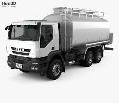 100 Tank Truck Iveco Trakker Fuel 2012 3D Model Vehicles On Hum3D