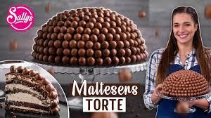 maltesers torte schokoladen kuppeltorte maltesers cake