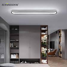 moderne led deckenleuchte 120cm 100cm großen decken le für wohnzimmer schlafzimmer esszimmer küche korridor lichter schwarz gold