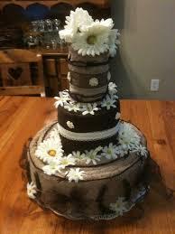 Rustic Wedding Shower Cake